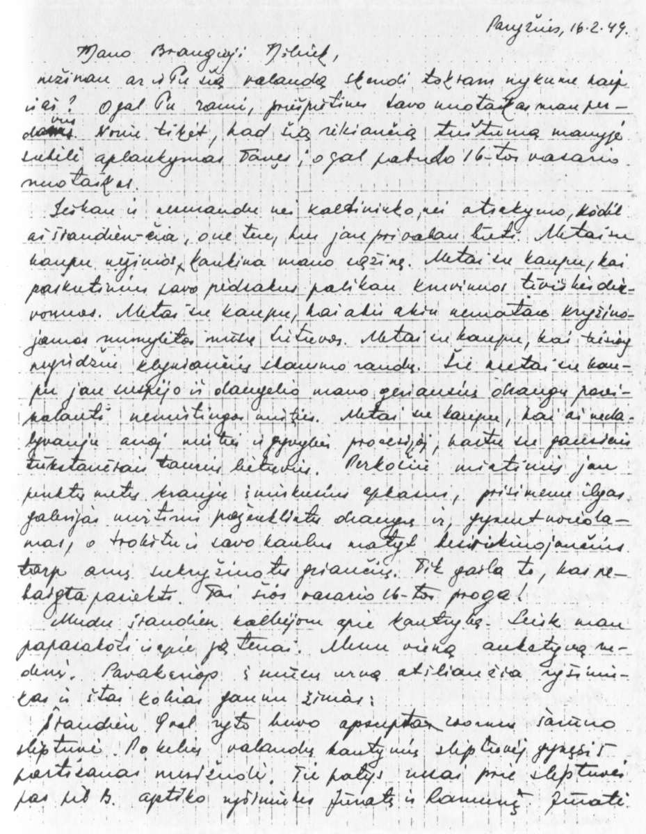 Kreipinio skyryba laiške