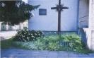 Kryžius ir memorialinė granito lenta