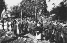 ąžuolų memorialo šventinimo iškilmės