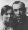 Mykolas Lukošiūnas su žmona