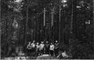 Kryžiai prie bunkerio Paručių miške