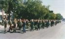 partizanų palaikais palydimi į Amžino poilsio vietą