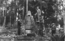 Paminklo Varėnos partizanų batalionui statyba