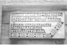 Atminimo lentos Čiobiškyje žuvusiems partzanams.