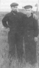 Bronius Vaicekauskas-Piratas ir Kazys Alionis-Vėjas lageryje