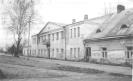 Čiobiškis. Vaikų namų pastatas, kuriame 1945 pavasarį buvo įsikūręs DKA štabas