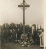 Kryžius, žymintis Dragūno būrio 9 partizanų žūties vietą.