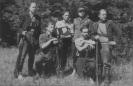 Perkūno būrio partizanai 1949 m. vasarą