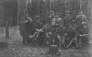 partizanų vadai Šimonių girioje 1947 m.