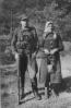 partizanas Albinas Milčiukas-Tigras su motina