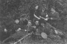 Jovaro kuopos partizanai. 1950 08 29.