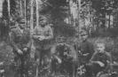 Aro būrio partizanai 1950 m.