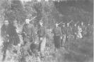 Butageidžio kuopos partizanai žygio
