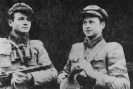 Du broliai partizanai.